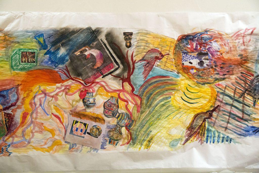 Atelier de peinture participatif. PVA Geneve. Galpon Geneve.